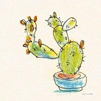 Cacti Garden V Fine Art Print