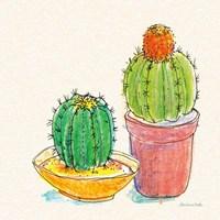 Cacti Garden III Fine Art Print