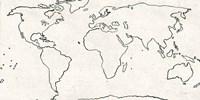 Sketch Map Fine Art Print