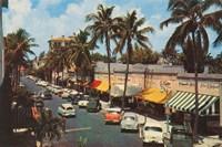 Florida Postcard IV Fine Art Print