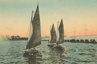 Florida Postcard I Fine Art Print