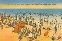 Beach Postcard IV Fine Art Print