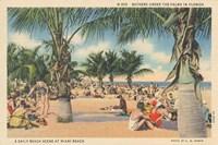 Beach Postcard III Fine Art Print