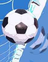 Soccer Goal Fine Art Print