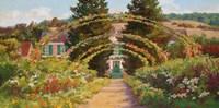 Monet's Grand Entrance Fine Art Print