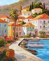 Greece's Golden Light Fine Art Print