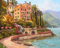 Lake Como Luxury Fine Art Print
