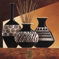 Patterns in Ebony I Fine Art Print