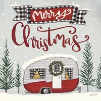 Merry Christmas Camper Fine Art Print