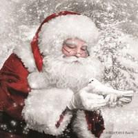 Santa's Little Friend Fine Art Print
