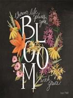 Bloom with Grace Fine Art Print