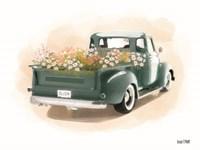 Flower Truck Fine Art Print