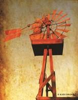 Chip's Windmill I Fine Art Print