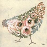 Astrid the Hen Fine Art Print