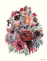 Moody Florals Fine Art Print