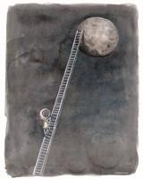 Ladder to the Moon Fine Art Print