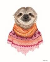 Sloth in a Sweater Fine Art Print