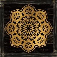 Gold Mandala I Fine Art Print