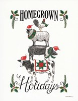 Homegrown Holidays Fine Art Print