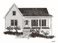 Farmhouse I Fine Art Print