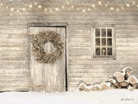 Old Farm Christmas Fine Art Print