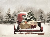 Snowy Presents Fine Art Print