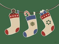 Christmas Socks Fine Art Print