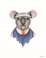 Kewl Koala Fine Art Print