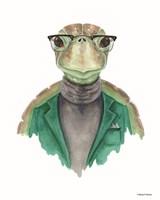 Turtle in a Turtleneck Fine Art Print