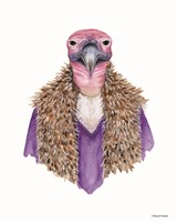 Vulture in a Vest Fine Art Print