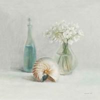Light White Flower Spa Fine Art Print