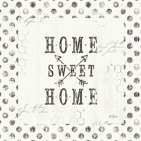 Farmhouse Fresh 01A Home Sweet Home Fine Art Print