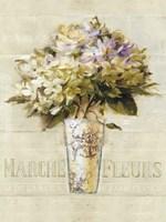 Marche de Fleurs Bouquet Fine Art Print