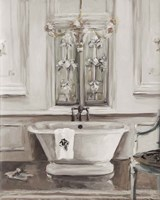 Classical Bath III Gray Fine Art Print