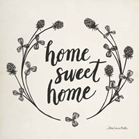 Happy to Bee Home I Words Neutral Fine Art Print