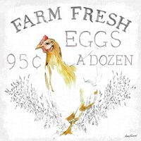 Farm Fresh enamel Fine Art Print