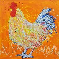 Elmer The Rooster Fine Art Print