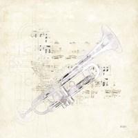 Musical Gift VI Framed Print