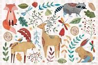 Whimsical Woodland I Fine Art Print