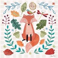 Whimsical Woodland II Fine Art Print