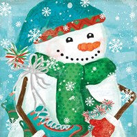 Snowy Fun IV Fine Art Print