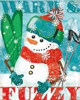 Snowy Fun III Fine Art Print