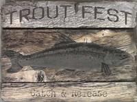 Trout Fest Fine Art Print
