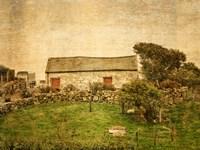 Irish Cottage Fine Art Print