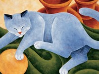 Cats & Pots Fine Art Print