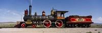 Train Engine On A Railroad Track, Locomotive 119, Utah Fine Art Print