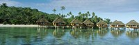 Lagoon Resort, Island, Water, Beach, Bora Bora, French Polynesia, Fine Art Print