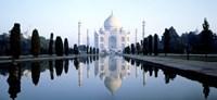 India, Agra, Taj Mahal Fine Art Print