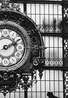 Musee D'orsay Interior Clock, Paris, France Fine Art Print