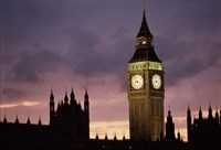 Big Ben Palace Of Westminster London Fine Art Print